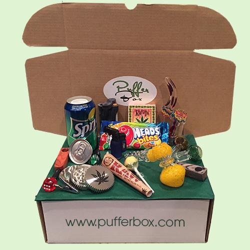 Puffer Gift Box Deluxe Pufferbox