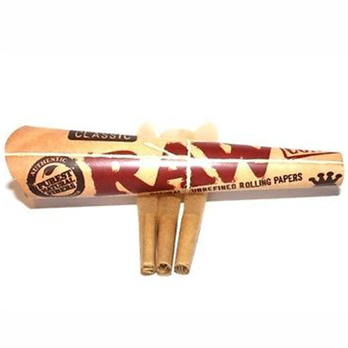 raw papers cones for sale Raw classic rolling papers pre-rolled cones- 32 cones per pack 1 1/4 size tip.