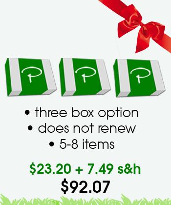 puffer box 3 month gift