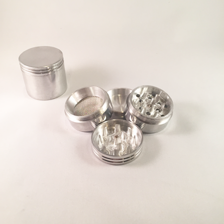 44mm aluminum grinder (4 part)