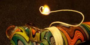 hemp wick vs butane lighter