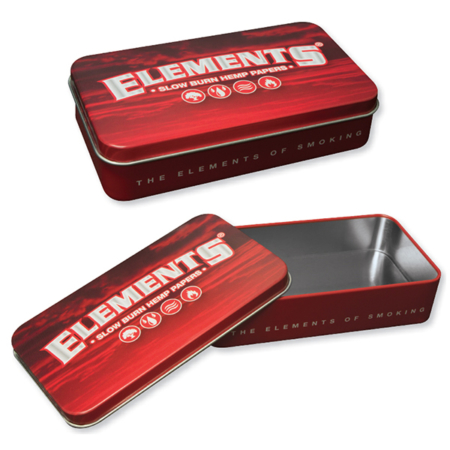 elements tin case