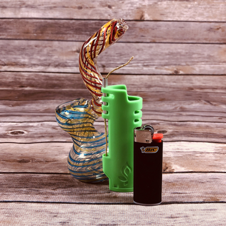 pufferbox bubbler lighter combo