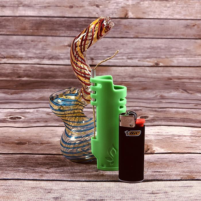 pufferbox bubbler lighter combo