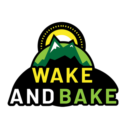 wake and bake sticker
