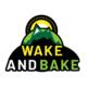 wake and bake sticker
