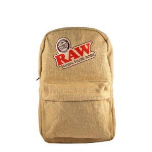 raw backpack puffer box