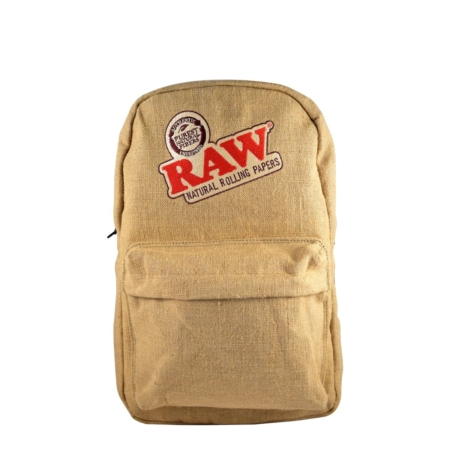 raw backpack puffer box