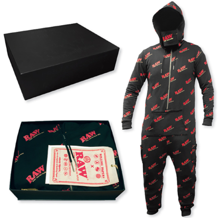 raw onesie puffer box